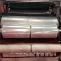 LLDPE horizontal três camadas esticar filme que faz a máquina