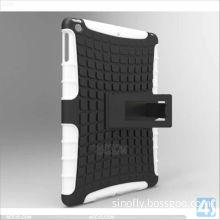 Multi Color Hybrid Dual Kickstand Hard Protector Case Cover for iPad Air --P-iPad5hcso001