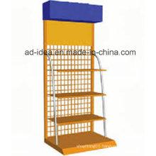 Multi Color Gondola Display Stand/ Cosmetics Gondola Display Stand
