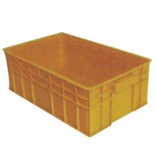 Yellow High Quality Plastic Turnover Box with Lids