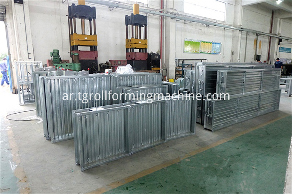 Fireproof Door frame Roll Forming Machine