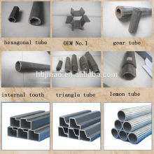 St42-2 Бесшовные стальные трубы изгиб специальной формы яркий отжиг