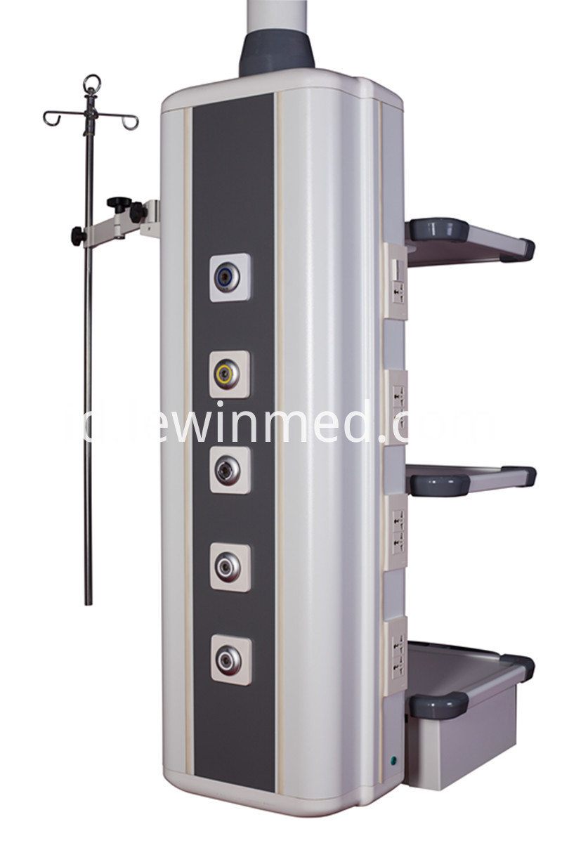 Convenient operate medical column