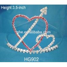 Popular para la fábrica del mercado directamente el sostenedor de la vela de la corona del metal