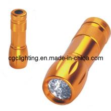 Luz de alumínio do diodo emissor de luz da bateria seca (CC-017)