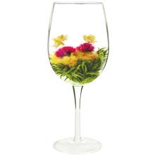 Shuang Xi Lin Men Fleurs de thé à double floraison de fruits de bonheur