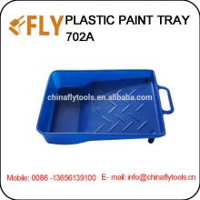 """7"""" синий пластиковая ванночка для краски"""