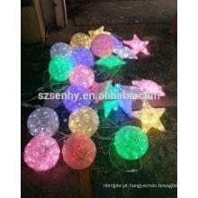 Fairy Outdoor Christmas Suspensão Led Light Balls