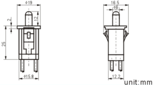 RDS-15-1 refrigerator switch