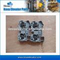 Клеммные колодки для DIN-рейки и для использования с Кабельным стандартным цветным / контрольным шкафом 6 мм2