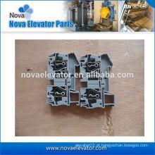 Blocos de terminais para trilho DIN e uso com cabo 6mm2 cor padrão / gabinete de controle