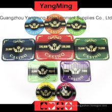 Высокая-класс Ворона набор покерных фишек (760ПК) Юм-Lctj001