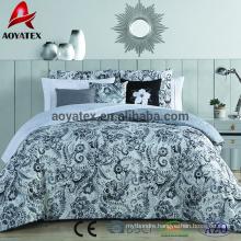 10pcs 100% polyester microfiber comforter,75gsm microfiber comforter set