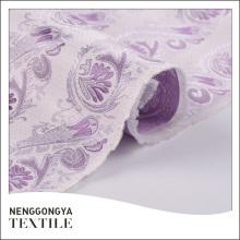 Tela profesional del brocado del telar jacquar teñido hilado de la moda del OEM