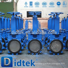 Didtek Reliable Quality Knife Edge Gate Valve