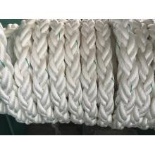 Corda de nylon de Polyeste da corda do Polyproylene da corda da amarração do suporte de 8