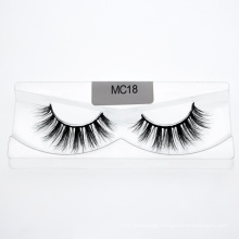 Free Sample The Most Popular Private Label Pure Fur 3D Mink Eyelashes