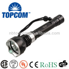 professional 2000lm XM-L waterproof led flashlight