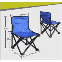 Cadeiras de acampamento da trombeta Ruggedized, pescando a cadeira de dobramento do tamborete, cadeira do lazer