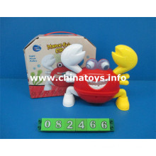 Promotional Battery Operated Feel Wheel Crab Toy with Music (082466)