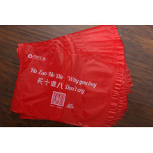 Poly Folie Printed Kleidung Tragetasche für Kleidungsstück Verpackung