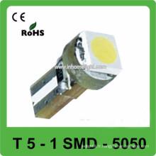DC12V 1SMD 5050 10LM Ampoule à voiture Led Tableau de bord