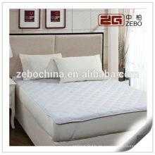 100% poliéster súper king tamaño personalizado colchón protector