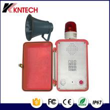 Farola de teléfono de servicio pesado y Sounder Knsp-15mt K2 Kntech