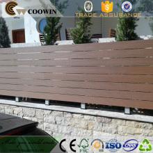 WPC material garden decking floor plastic wood composite screen
