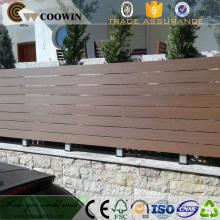Tela composta de madeira plástica do assoalho decking material do jardim de WPC