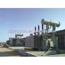 Transformador rectificador de aluminio electrolítico de 110 kV DC, inmerso en aceite