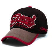 Bounding Brim and Embroidery Baseball Cap
