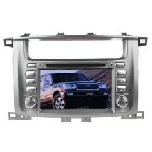 2DIN автомобильный DVD-плеер, пригодный для Toyota Land Cruiser LC100 с радио Bluetooth стерео TV GPS навигационной системы