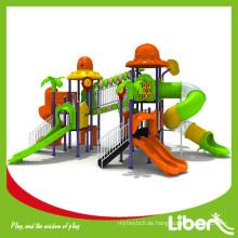2015 Neue Kinder Vergnügungspark Outdoor Kunststoff Spielplatz mit Fabrik Preis für Kindergarten