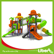 2015 New kids amusement park outdoor plastic playground with factory price for kindergarten