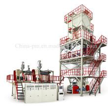 Трехслойная термоусадочная машина для производства полиэтиленовой пленки POF