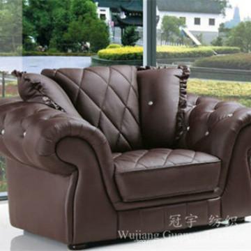 Tissu à la maison de similicuir de daim de textile de polyester pour le sofa