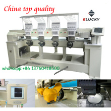 Hot sale four head cap/shoes/t-shirt embroidery machine/sewing machine with CE