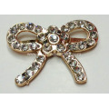 3.5mm Gold Metal Buckle with Rhinestone for Leather Handbags, Shoe Accessories