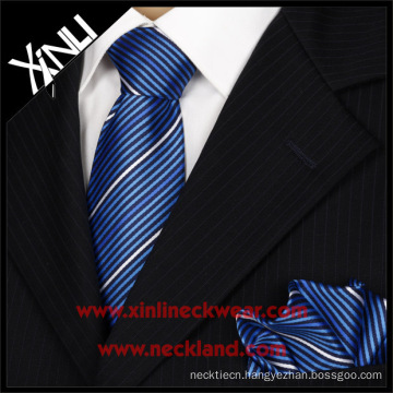Good Quality Silk Jacquard Woven Tie Handkerchief