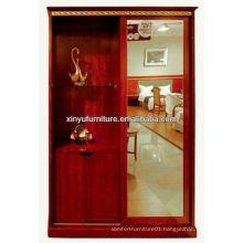 Durable wooden bedroom wardrobe furniture XY2962