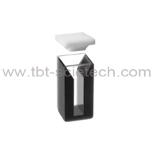 com paredes negras Quartz glass Micro cell