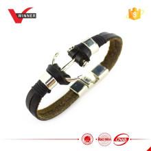 Bracelete de couro de gancho das senhoras 2015