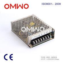 Wxe-100ned-C AC para fonte de alimentação com interruptor de saída dupla variável DC
