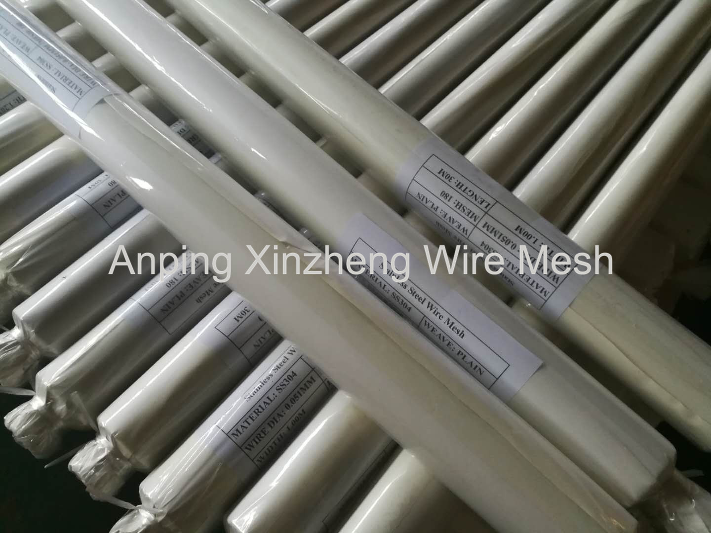 SS Wire Mesh Packaging