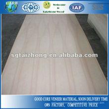 Decorative Usage White Ash Veneer Plywood