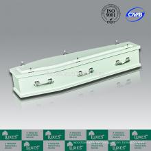 Billige Särge für Verkauf LUXES australischen Stil weiße Särge A30-SSV