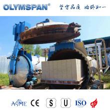 Autoclave en brique de ciment standard ASME