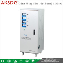 Новый тип прямого производителя SVC 15kva TNS Трехфазный высокоточный автоматический стабилизатор напряжения AC для AKSDQ