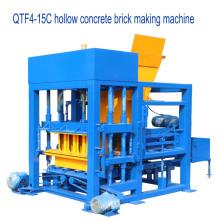 QTF4-25 baixo investimento betão sólido bloco máquina de moldagem for sale